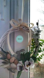 Twórczo Aktywnie Kreatywnie K.Lis: Wielkanocny wianuszek