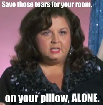 Abby Lee from Dance Moms scares me. A lot.