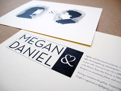 Black-white-quirky-illustrated-wedding-invitations