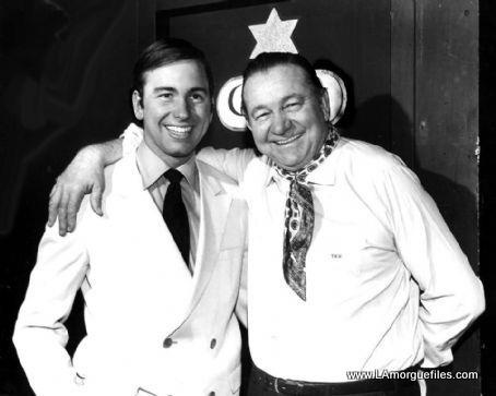 Actor John Ritter with father, country singer Tex Ritter.