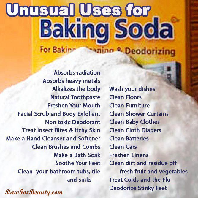 Oh, all the uses for Baking Soda!