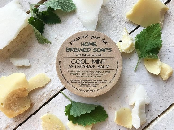Natural After Shave Balm - Cool Mint