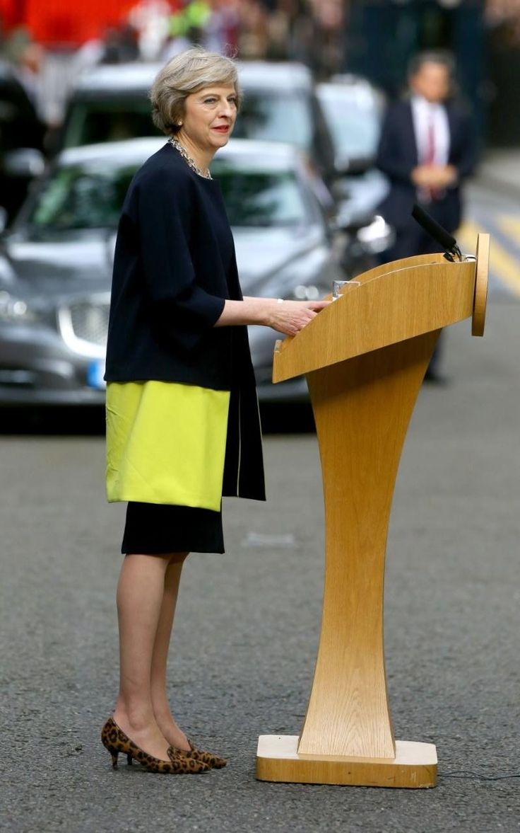 The eyes of the world were on Theresa May as she arrived at 10 Downing Street this evening, as Great Britain's second female prime minister.