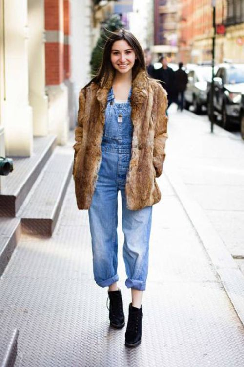 Chic overalls love list