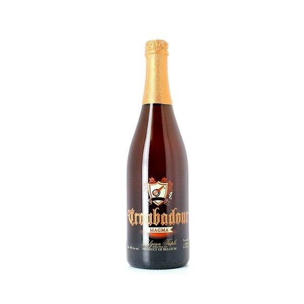 Troubadour Magma 75 cl Cerveza Belga de tipo IPA Grado alcohol 9º