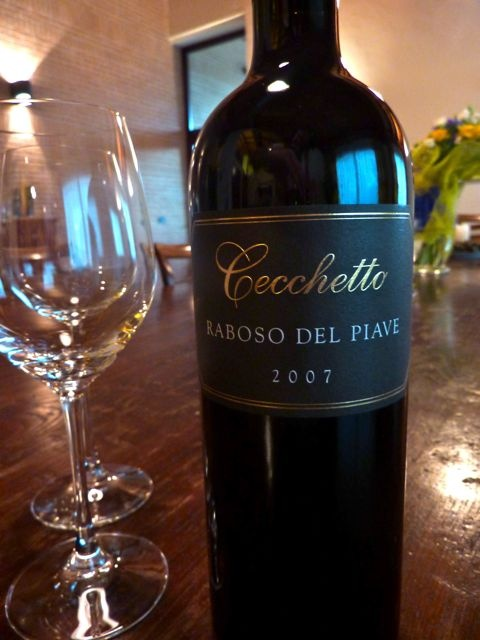 Raboso del Piave - another wine region we discover by bike during our tours. This is a wonderful, full-bodied red.