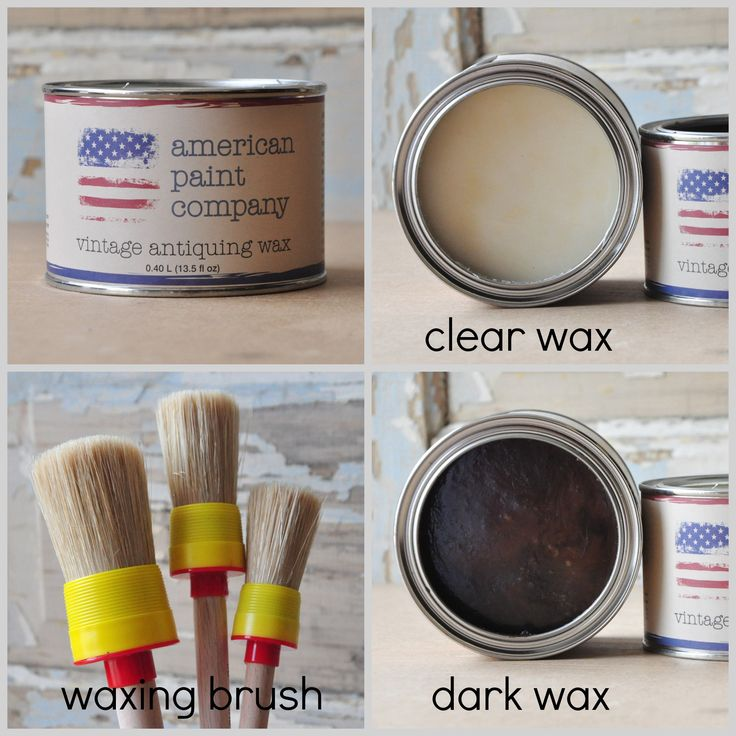Waxing furniture with American Paint Company all natural wax