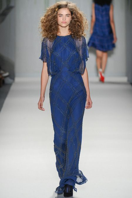 Jenny Packham | Spring 2014 Ready-to-Wear Collection | Style.com  WRONG STYLE i know, but beautiful color