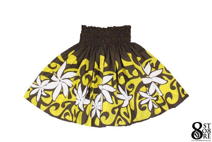 【楽天市場】フラダンス 衣装 パウスカート No.450 ブラウン イエローフラダンス衣装 フラダンススカート フラスカート フラ衣装 ハワイアンスカート ハワイアン衣装 ハワイアンダンス ハワイ衣装:フラダンス ハワイアンショップ808