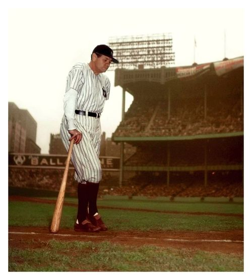 Babe ruth in color images galleries for Babe ruth coloring pages