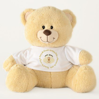 Birthday Souvenir -  Doctor 鮑 鮑 T. Bear (Large) - baby birthday sweet gift idea special customize personalize