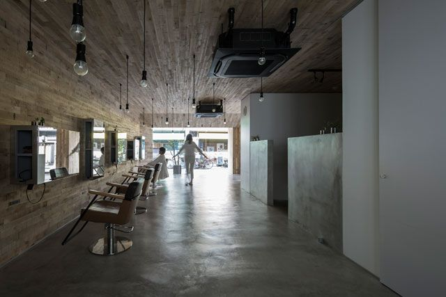 mook|美容室|店舗デザイン 奥和田健建築設計事務所