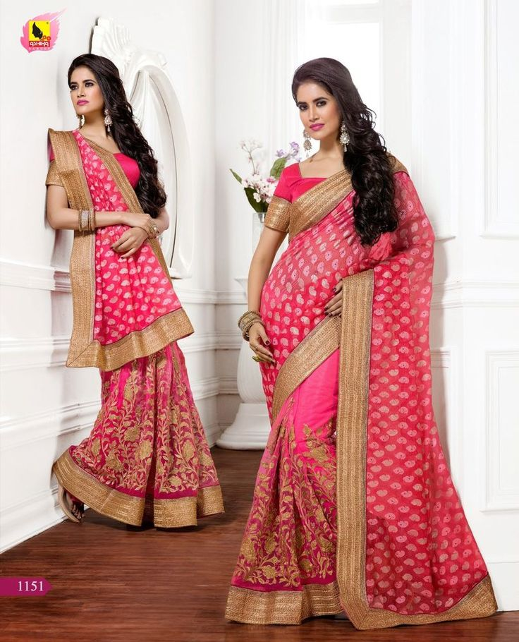 Party Indian Bollywood Saree Traditional Ethnic Pakistani Designer Wedding Sari  #KriyaCreation #SareeSari