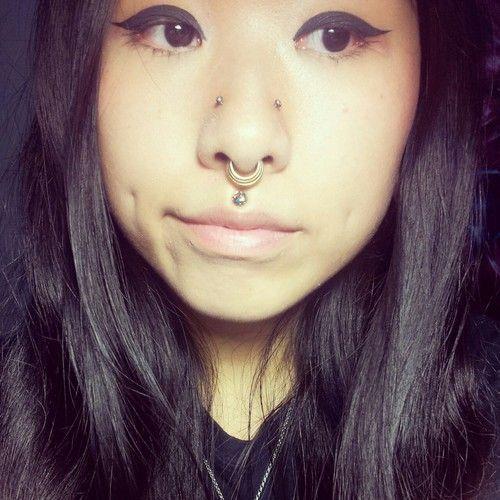 Double Nostril, Septum & Medusa | Piercings | Pinterest ...