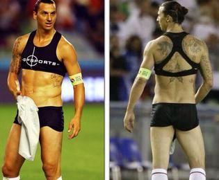 Τι φοράς ρε Zlatan!