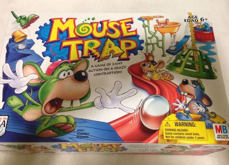 Mouse Trap Board Game 2005 #Mousetrap