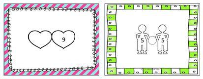Voor de kinderen van groep 3 heb ik presentaties gemaakt om de verliefde hart sommen en de tweelingsommen te flitsen. Handig wanneer je ook de rekenmethode Pluspunt gebruikt.