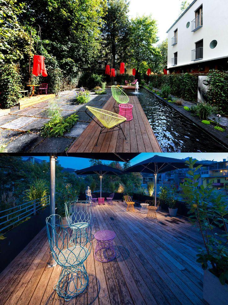 NALA Indivduellhotel | Designhotel | Innsbruck | Austria | http://lifestylehotels.net/en/nala | Garden | Nature | View