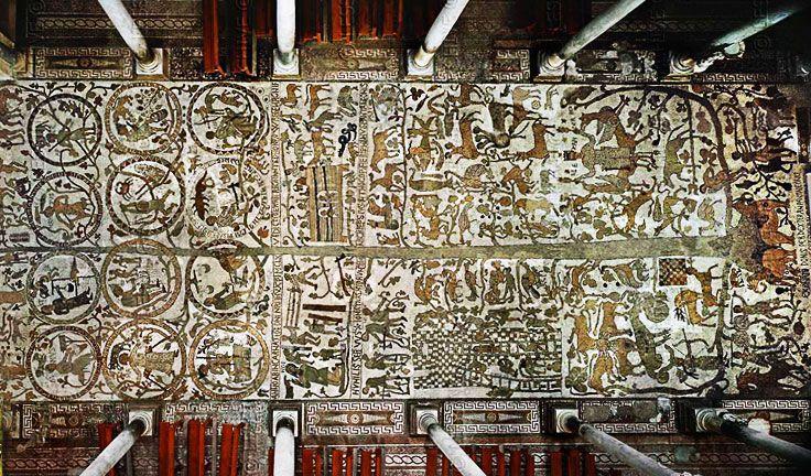 Mosaics in Otranto, Puglia