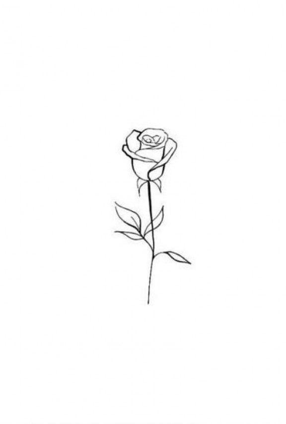 Pin By Mariana Cortinas On Graffiti In 2020 Single Rose Tattoos Small Rose Tattoo Rose Tattoos For Men