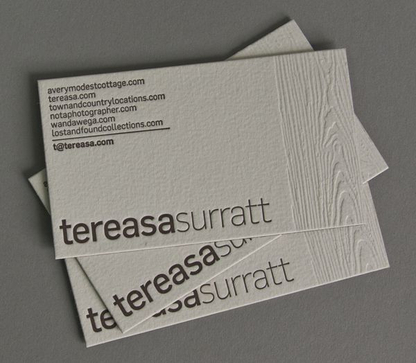 Business Card Design Layout | Simple and modern woodgrain business cards by Sona Hovhannisyan for ...