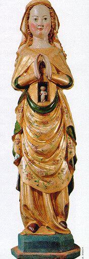 14th century german statue