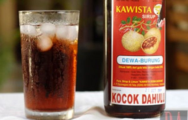 #indonesian #drink #cola #tradisional #syrup #kawista