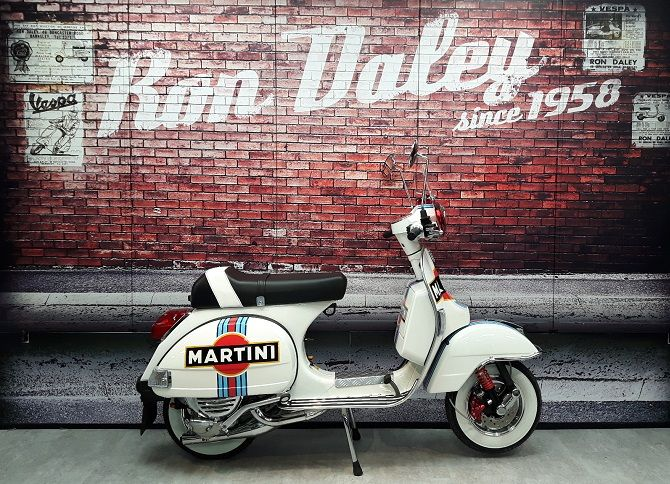 PX 125 Ron Daley Special Edition No 147