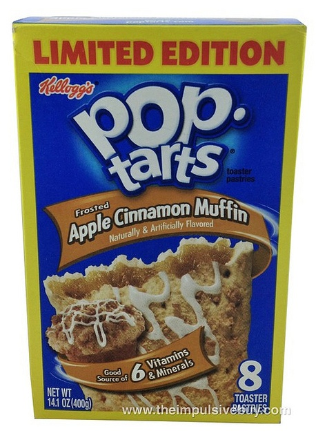 : Limited Edition Frosted Apple Cinnamon Muffin Pop-Tarts | Pop-Tarts ...