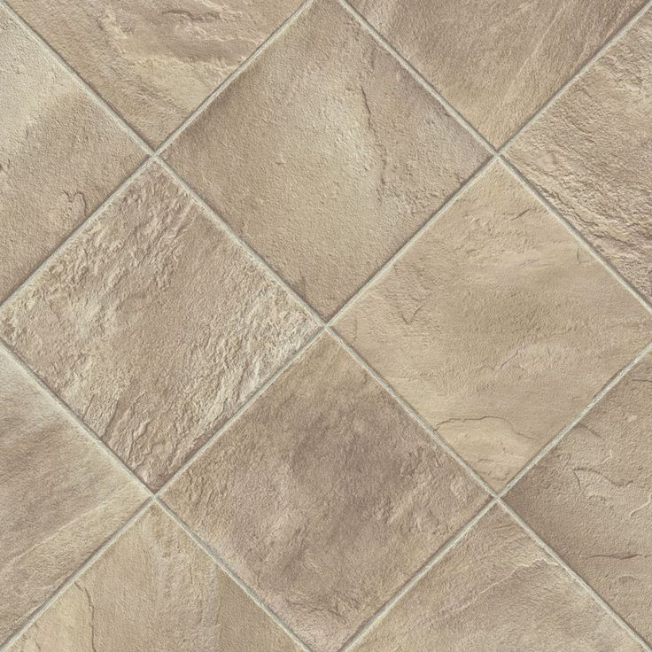 Shop armstrong 12 ft w shelbyville taupe geometric low gloss finish sheet vinyl at - Linoleum flooring prices lowes ...