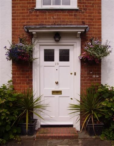 Regency 6 Panel Door from the Victorian, Georgian and Edwardian Periods with windows.