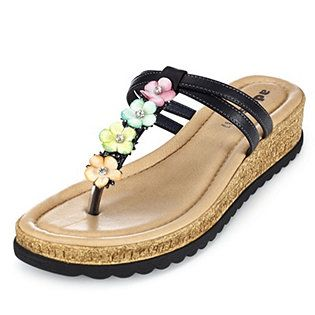 Adesso Christa Leather Toe Post Sandal