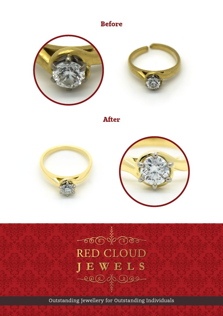 The claws that hold the diamond in your ring are more exposed to wear and tear and therefore need to be checked on a regular basis to avoid losing the stone. As we repaired this ring, we also re-tipped all the claws. | Outstanding Jewellery for Outstanding Individuals | www.redcloudjewels.com.au