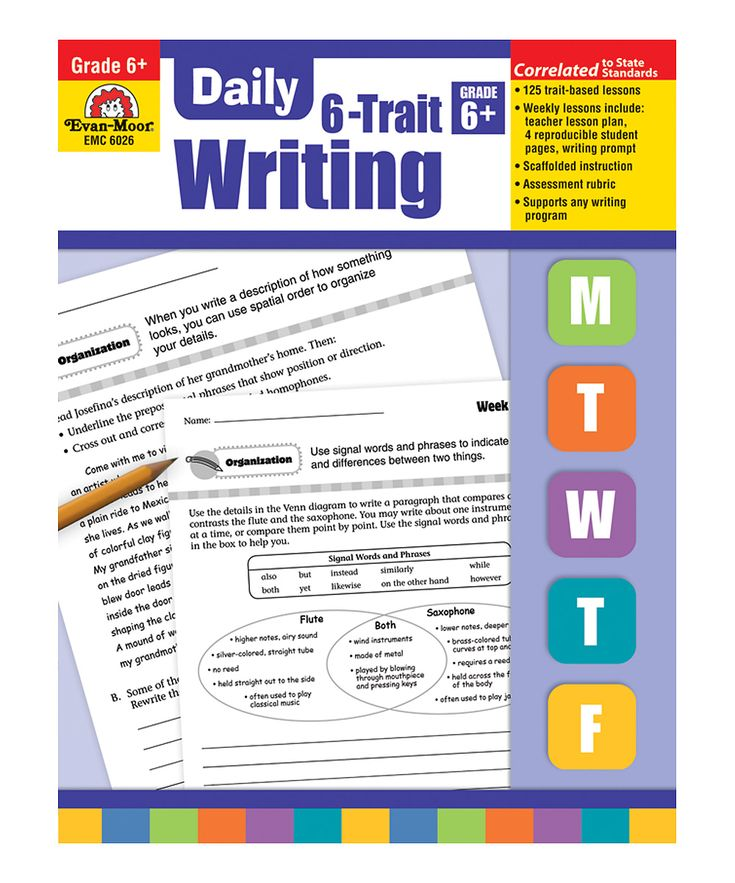 best Classroom stationary images on Pinterest   Classroom ideas     Writing Across the Curriculum Six Traits Writing Student Checklists and Grading Rubric Color and BW  Assessment from Wife Teacher Mommy