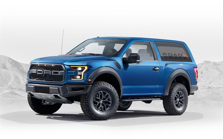 Download wallpapers Ford Bronco, SUVs, 2020 cars, new Bronco, Ford