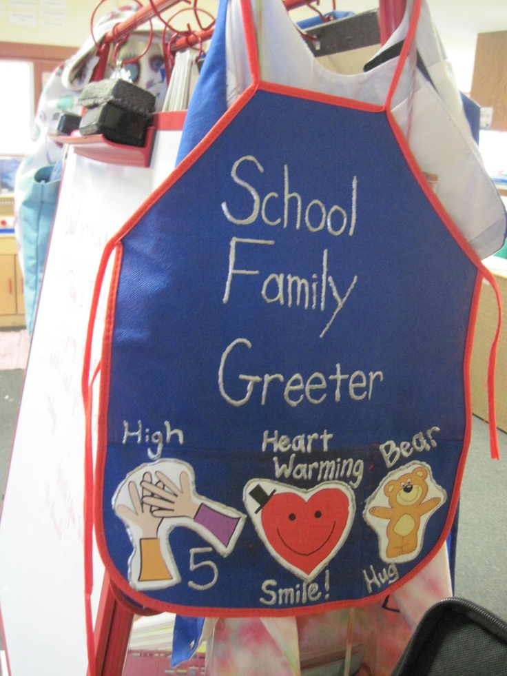 Look what we found! Mrs. Alissa's Greeting Apron #iheartcd