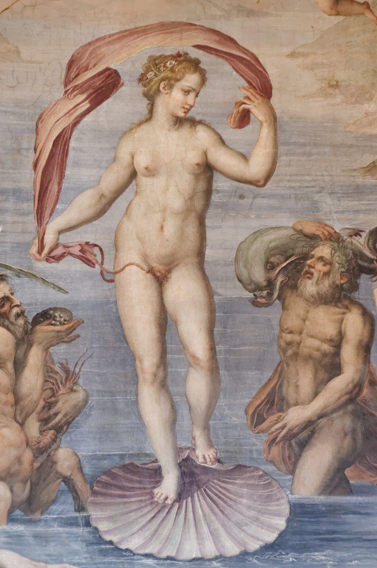 Giorgio Vasari, The Birth of Venus, detail