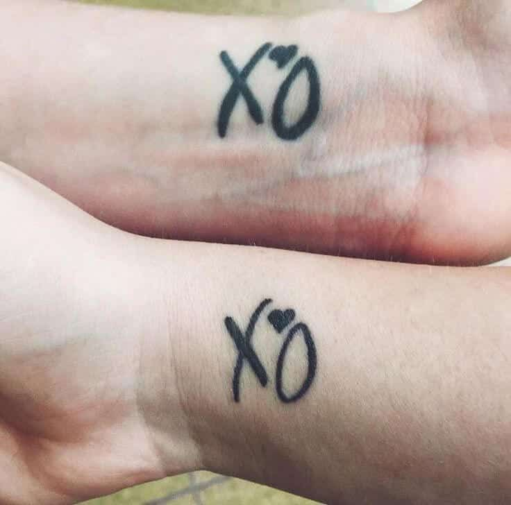 Xo Tattoos For Men Xo Tattoo Hand Tattoos For Women Tattoos For Guys Hey friends, so i'm planning on getting xo til we overdose on my leg and i was curious of what anyone else's experiences are in regards. xo tattoos for men xo tattoo hand