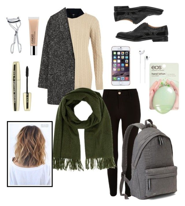 """Untitled #17"" by siggan22 on Polyvore featuring River Island, Uniqlo, WearAll, Church's, MANGO, Warehouse, Gap, Ted Baker, Apple and BBrowBar"