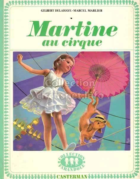 Martine au cirque (Gilbert Delahaye – Marcel Marlier) - Αναζήτηση Google
