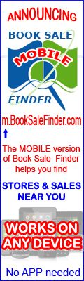 Book Sale Finder! Find hundreds of books in your area for sale at libraries and bookstores in your area! Cheap cheap cheap! Teachers! Check it out!!