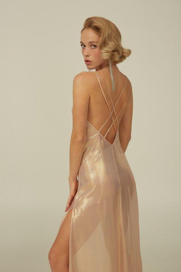 Neckholder-Kleid rückenfrei i 2020
