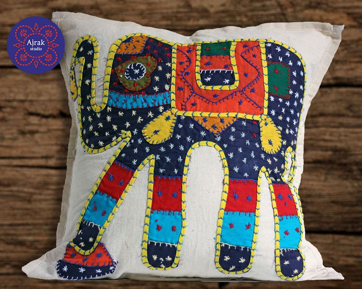 Chic Throw Pillow Elephant Cushion Covers Boho Pillows Decorative Animal