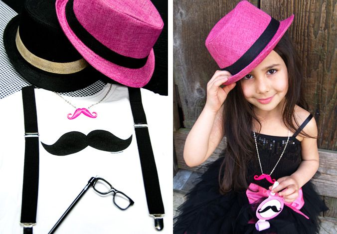 girls mustache party | Pink Mustache Party now available at BirthdayExpress.com