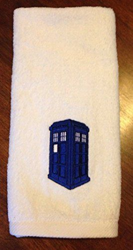 Dr. Who Inspired Police Call Box Bathroom Hand Towel *** Want additional info? Click on the image.