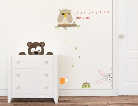 Unique Animal Wall Decals Ideas On Pinterest Bird Doodle - Nursery wall decals animals