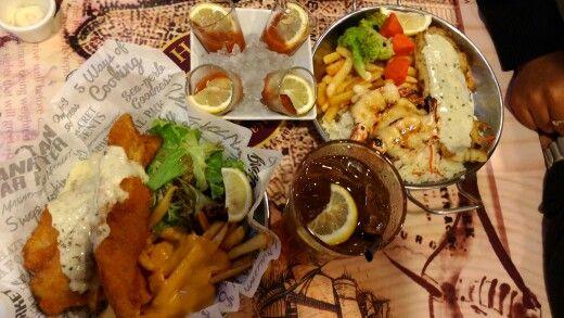 Seafood at Manhattan Fish Market, Yummy