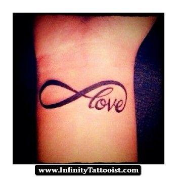 love infinity tattoo on wrist 03.jpg 350×350 pixels