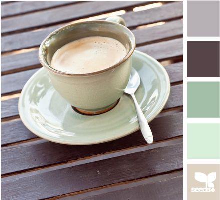 color sip: Color Palettes, Bathroom Colors, Design Seeds, Color Schemes, Bedrooms Colors, Colors Schemes Mint Green, Living Room, Colors Palettes, Colors Sip