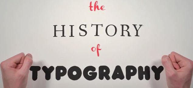 Trace The Evolution Of Typography In This Animated Stop-Motion Short